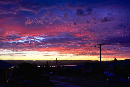 luminosity7 nikond850 launceston tasmania australia photoart sunsetshot dramaticnaturalcolours streetscape tamarriver sunsetsuitei