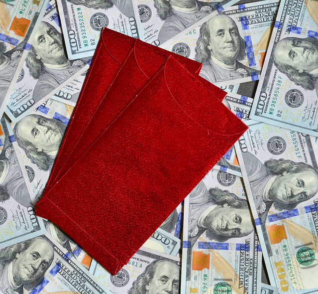 Red envelope for lucky money