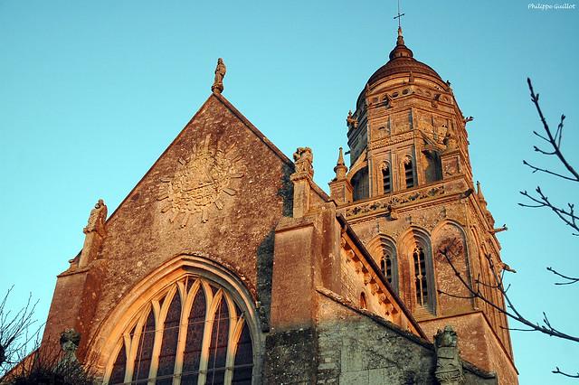 Sainte-Marie-du-Mont : l'église Notre-Dame