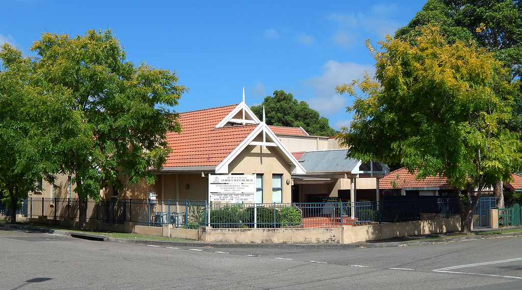 Sydney BP Church, Gladesville, Sydney, NSW.