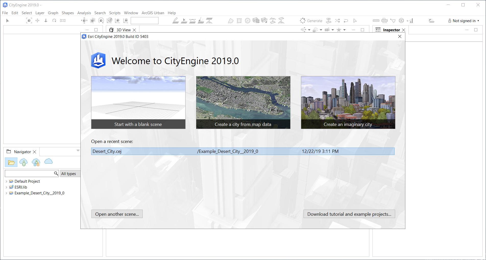 Esri CityEngine 2019.0.5403 x64 full license