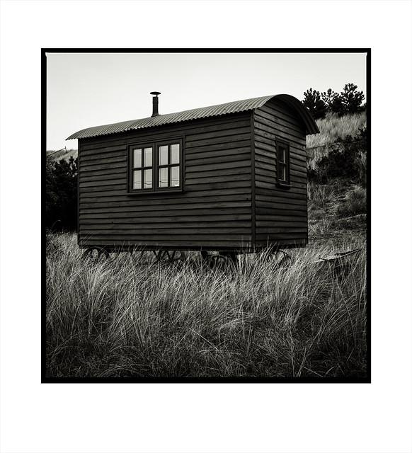 Glamping. Sea Palling, Norfolk.