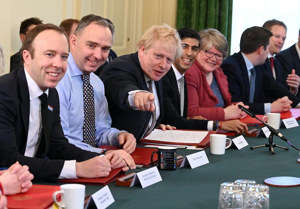 Boris Johnson's Cabinet Meeting