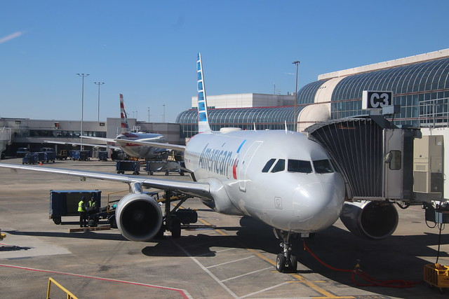 Scenes from Charlotte Douglas International Airport (North Carolina) - Friday February 14th, 2020