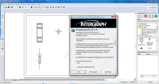 Working with Intergraph SmartSketch 2014 R1 full license