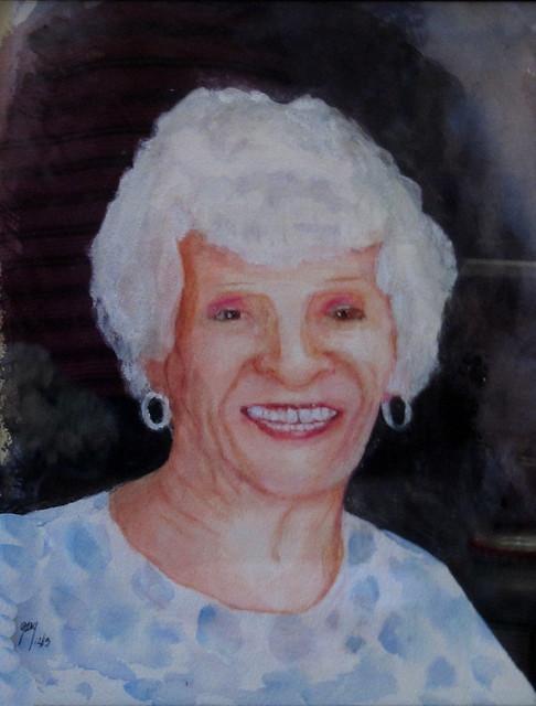 mom watercolor
