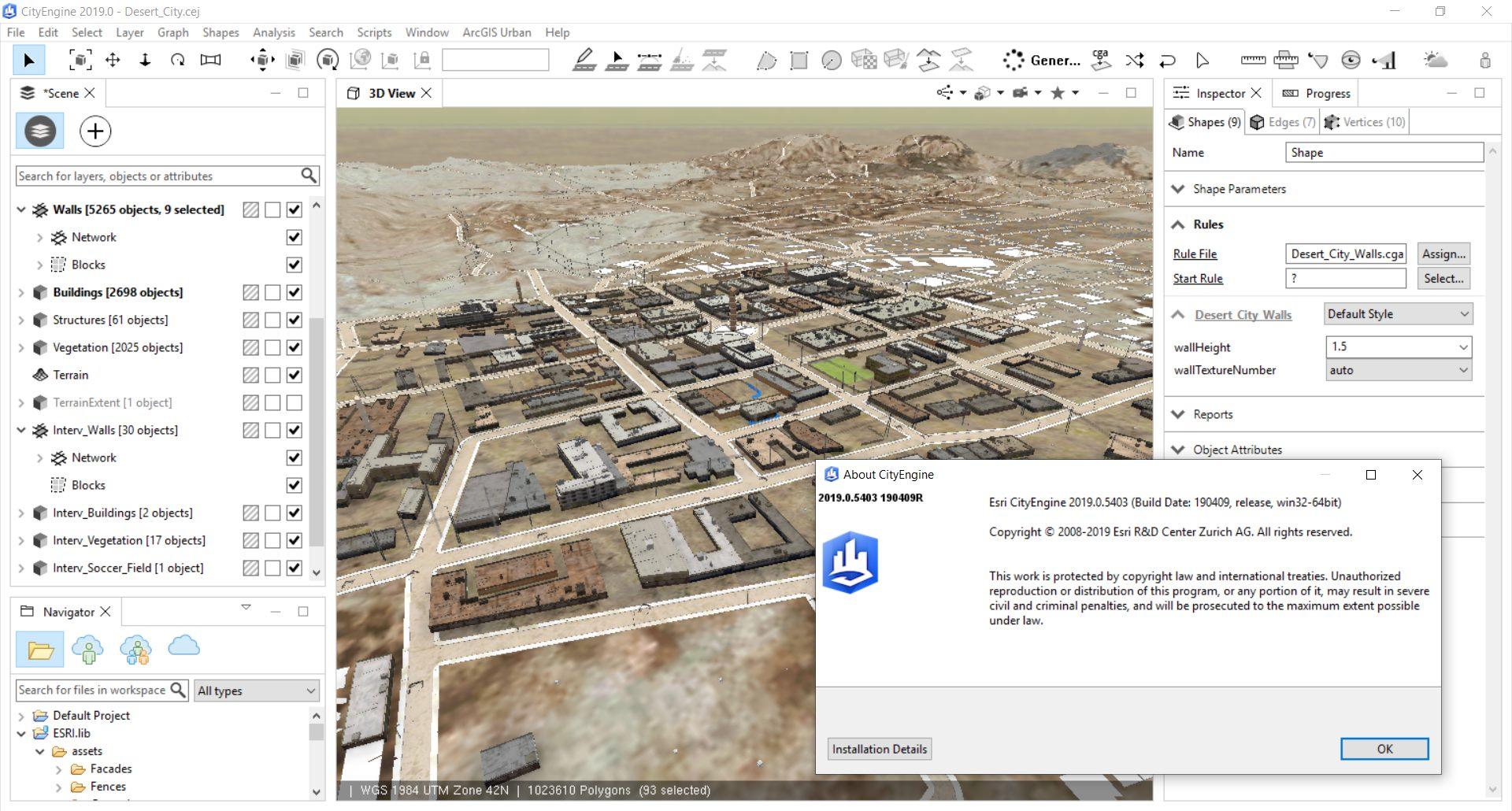 Working with Esri CityEngine 2019.0.5403 x64 full license