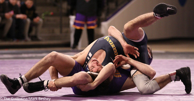 125: Ethan Cota (AU) wins a 5-3 decision vs. Trenton McManus (MSU) - 200214mb0004