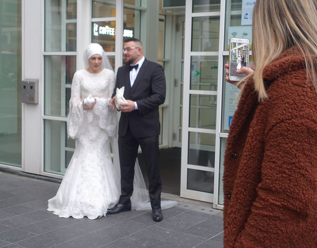 After the wedding in The Hague