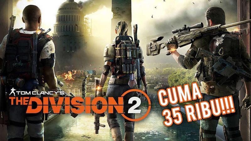 The Division 2 PC Turun Harga Jadi 35 Ribu Rupiah!