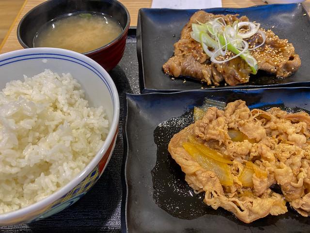 At Yoshinoya(吉野家にて)