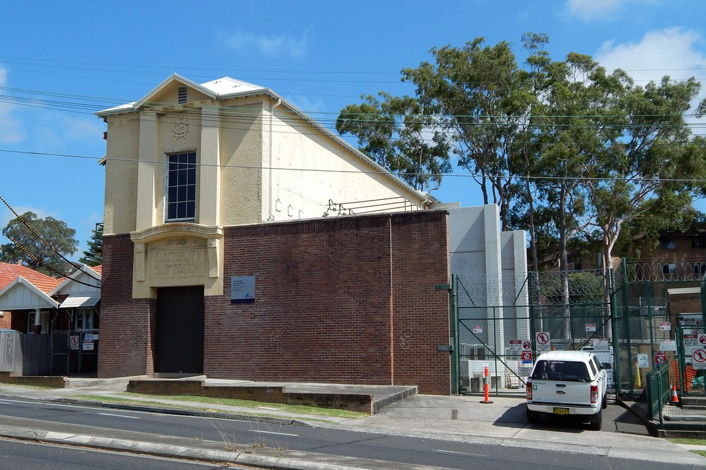 Electrical Sub Station No 129, Gladesville, Sydney, NSW.