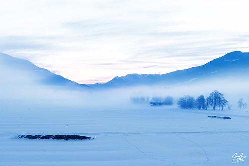 landscape fineart fineartphotography sky winter sunrise goldenhour national outside naturephotography cold sony sonya7 sonya7iii tamron sonyilce7m3 field morning snowy snowylandscape alps austria mountains snowymountains zellamsee kaprun mist misty fog foggy trees longexposure explore explored glacial tauernspa balconyview austrian