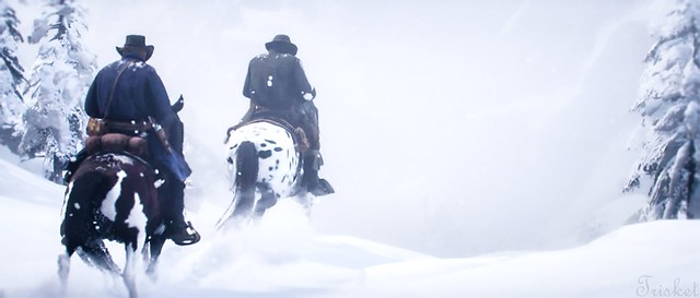 Baby It's Cold Outside.  ( Red Dead 2 )