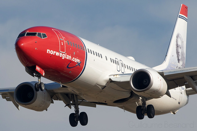 Boeing 737-800 Norwegian Air Sweden SE-RRE cn 39003/3401