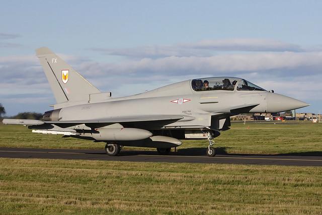 Typhoon T3 ZK382 'FX' 1(F) Squadron