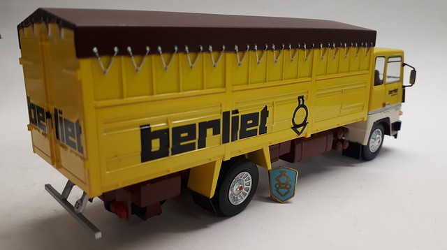Berliet GR 280. 1977.
