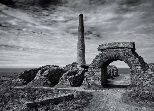 The abandoned Arsenic Mine
