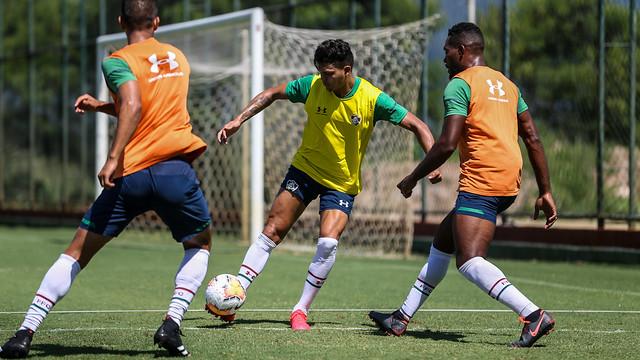 Treino do Fluminense - 15/02/2020