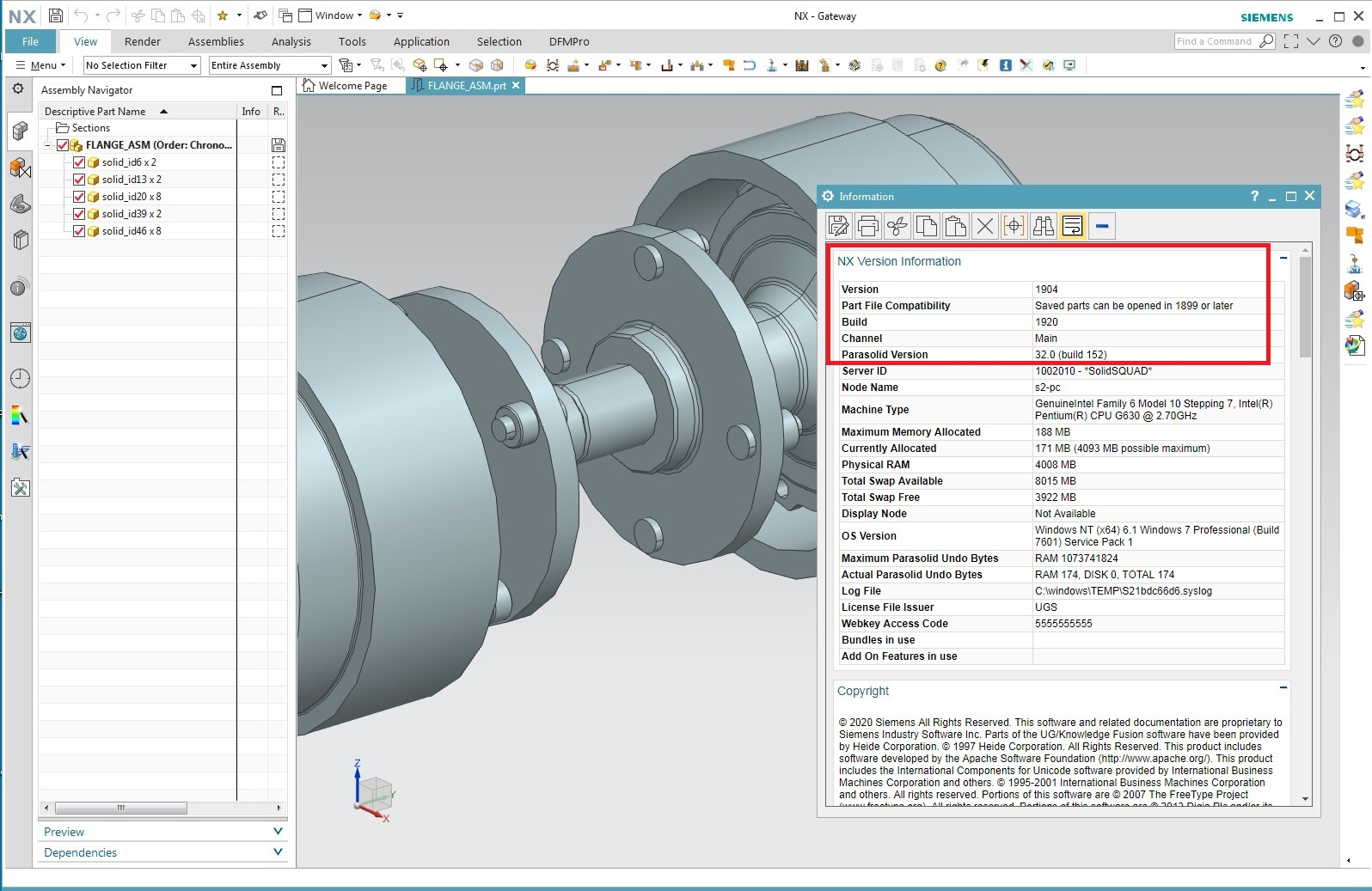 Working with Siemens NX 1904 Build 1920 full
