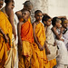 Novice Hindu Monks In Varanasi, India
