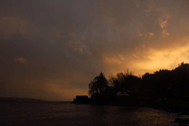 Storm Dennis relents and gives a little sunshine