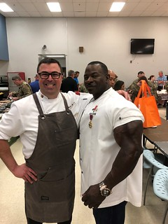 Chef Mike Manno and Chef Andre Rush