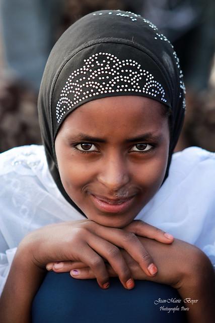 Petite Ethiopienne à Sheik Hussein