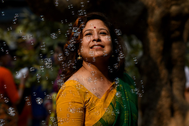 Lubna at Bangla Spring Festival