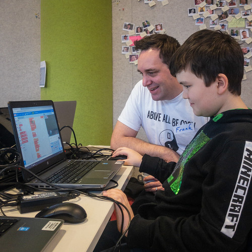 At the CoderDojo | by Peter Van Lancker
