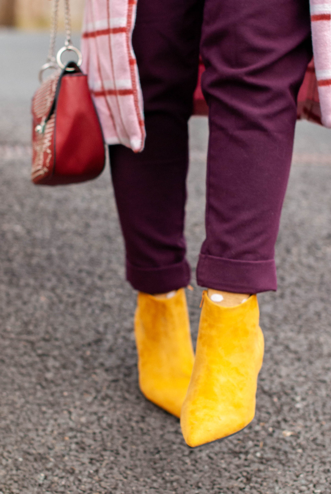 Winter Brights in Shades of Pink and Yellow | Not Dressed As Lamb, Fashion Over 40