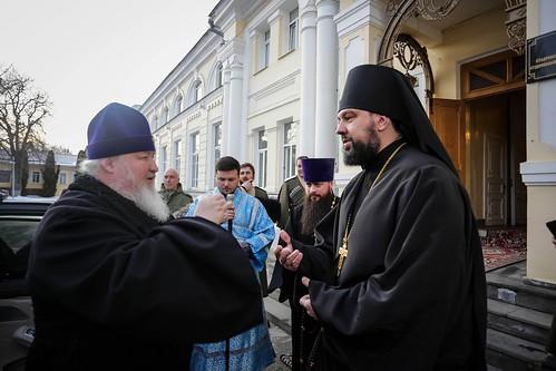15 февраля 2020, В канун Недели о блудном сыне митрополит Кирилл совершил всенощное бдение