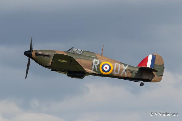 Hawker Hurricane P2902 20190707 OldWarden