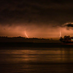8. Märts 2019 - 14:33 - Thunderstorm, seen from Fannie Bay Foreshore, Darwin, Northern Territory, Australia