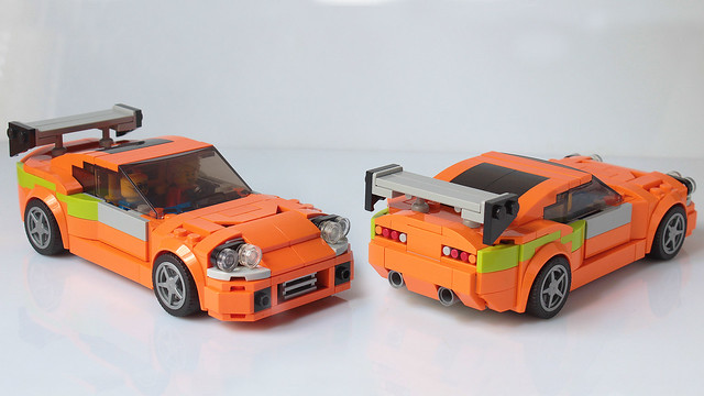 Lego Fast and Furious Toyota Supra