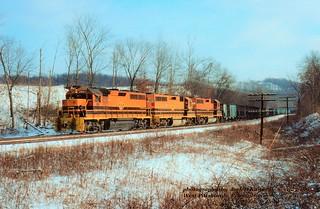 BP 3001 RS 105-103, wb, West Pittsburg, PA. 1-25-1995