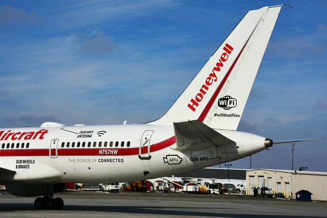 N757HW (Honeywell)