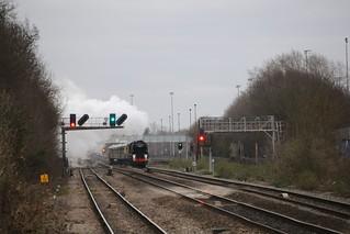 """SR No 35028 """"Clan Line"""" - West Ruislip"""