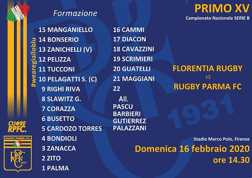 Florentia vs RPFC 16.02.20