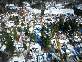 Tilt-Shift: Snowy Salem