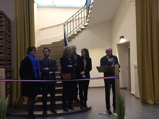 Inauguration Salle des fêtes le 14 février 2020
