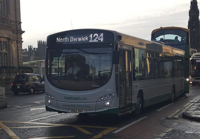 East Coast Buses 10195 SN62 BNY (16/01/2017)