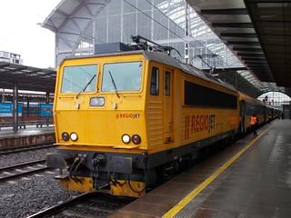 Regiojet 162.115 at Praha hln with the 09:50 to Ostrava, 10th February 2020