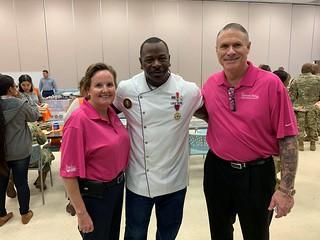 Karen, Chef Andre Rush and Bill
