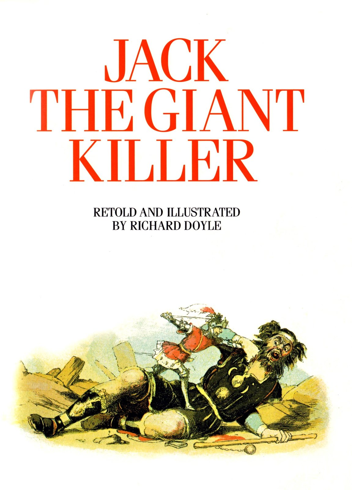 Richard Doyle - Jack the Giant Killer, 1842, 01