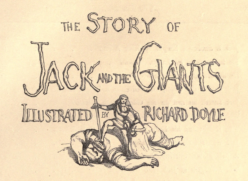 Richard Doyle - The Story of Jack and the Giant, 1851, Illustration 01