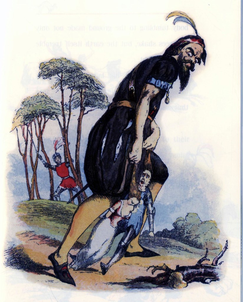 Richard Doyle - Jack the Giant Killer, 1842, 11
