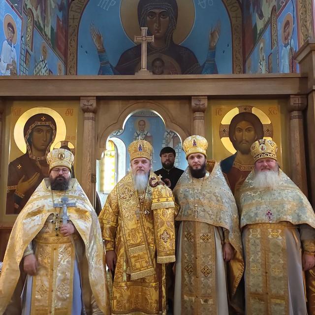 Божественная литургия в Свято Николаевском храме г.Ирпень
