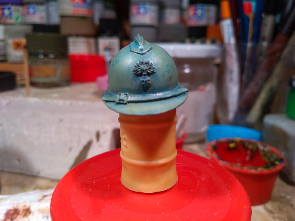 casque tirailleur