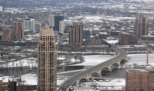 East bank Minneapolis skyline from 750 feet 2-15-20 | by bapster2006